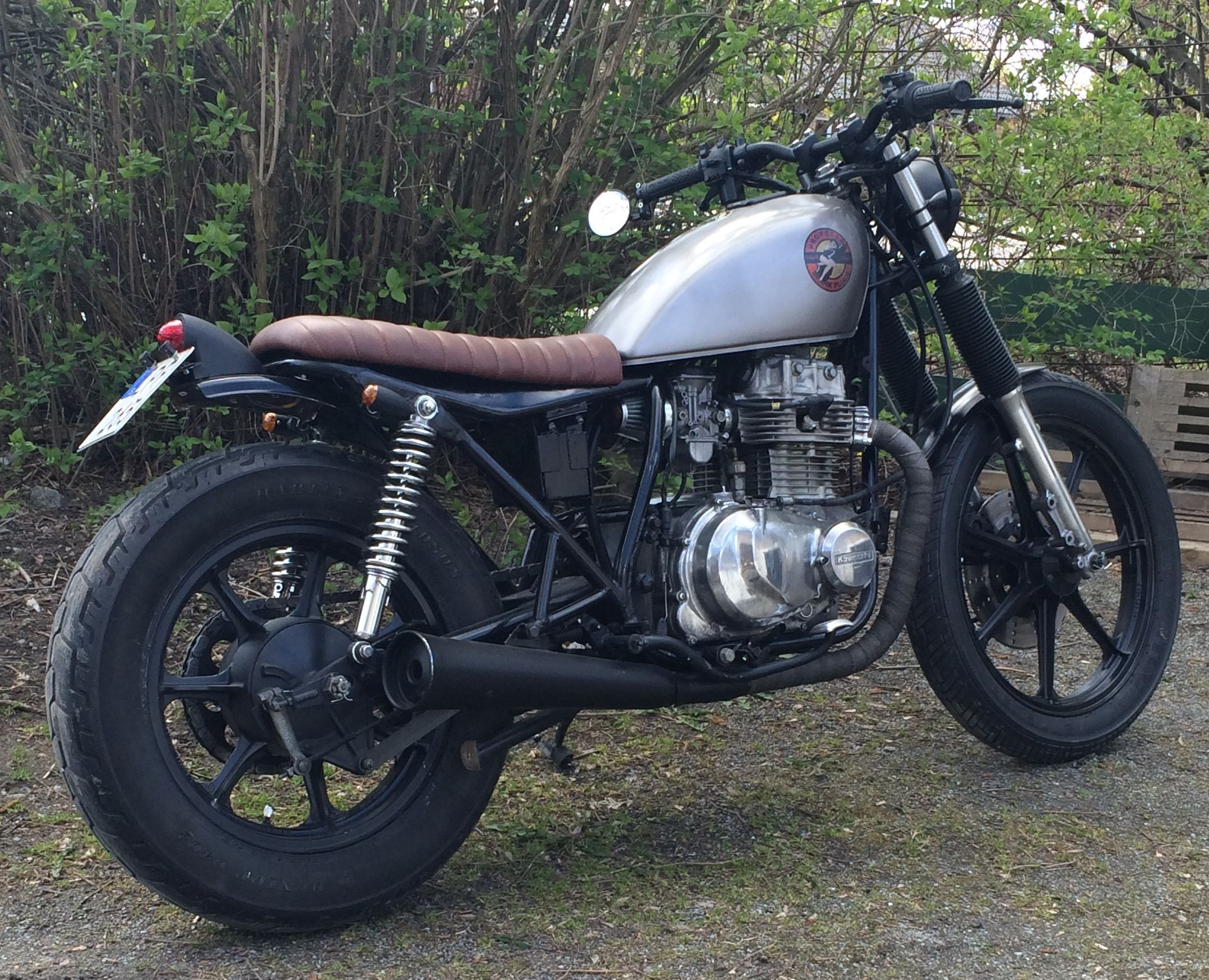 1981 Kawasaki 440 Ltd Cafe Racer | Reviewmotors co