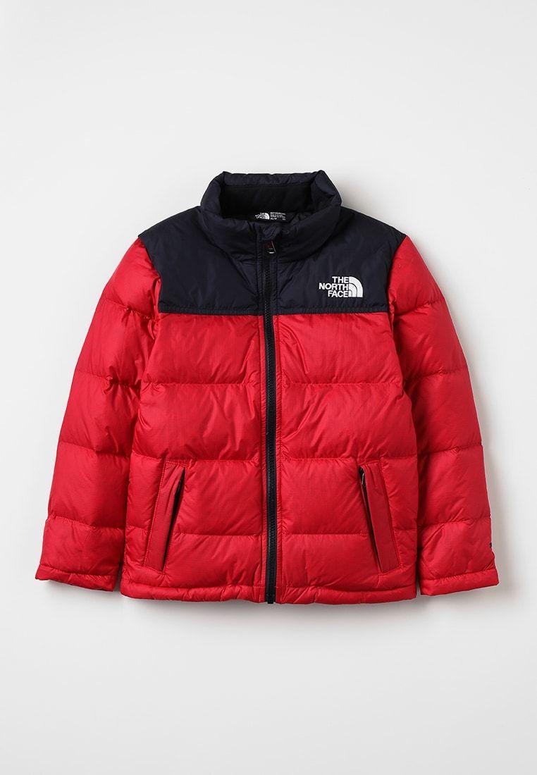 The North Face Nuptse Down Jacket Red Zalando Co Uk Jackets North Face Nuptse Red Jacket [ 1100 x 762 Pixel ]