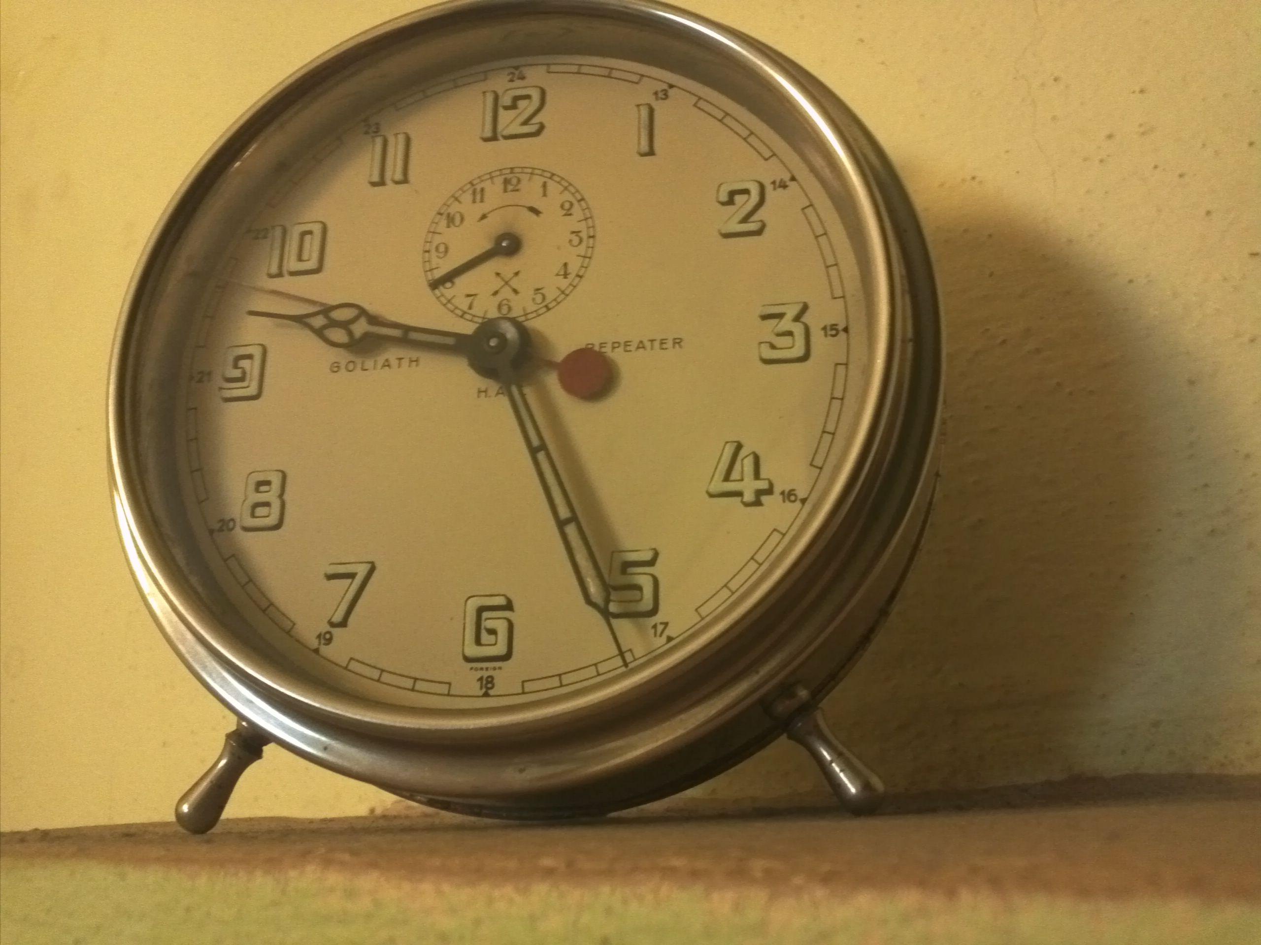 Hac goliath alarm clock junghans pinterest alarm clocks hac goliath alarm clock amipublicfo Choice Image