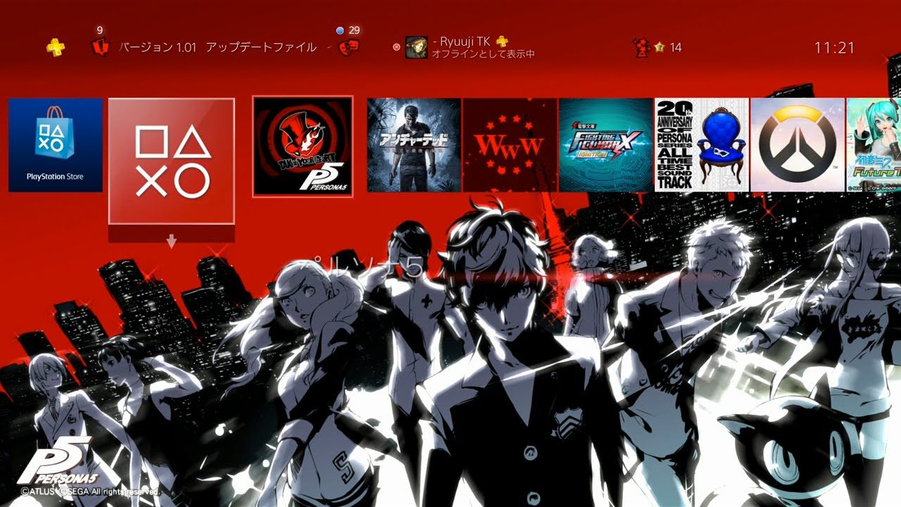 Video][Japan]Persona 5 PS Store Special Edition Pre-Order