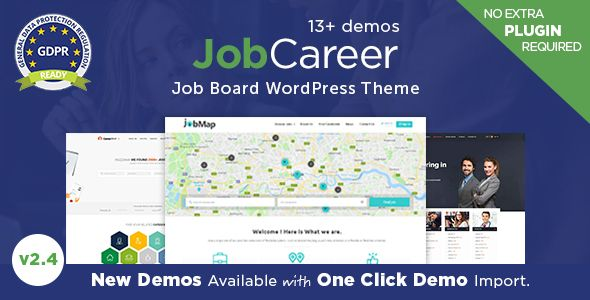 JobCareer | tech | Themes free, Apply job, Job portal