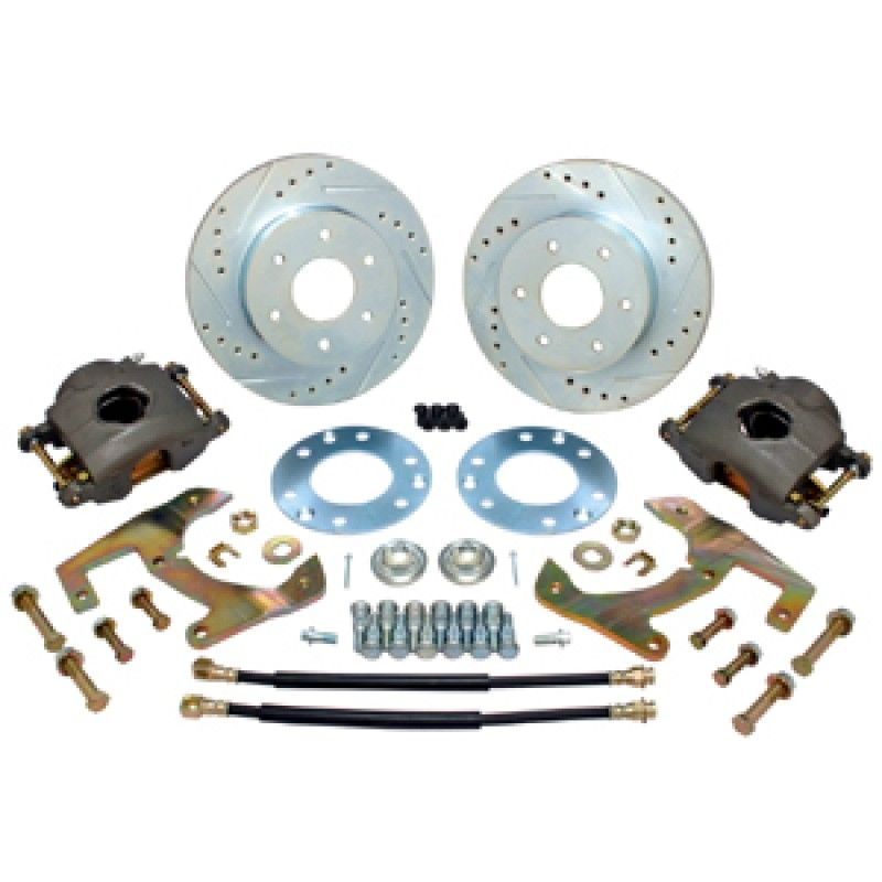 1947 1959 Chevy Gmc Front Disc Brake Kit 6 Lug With Hubs