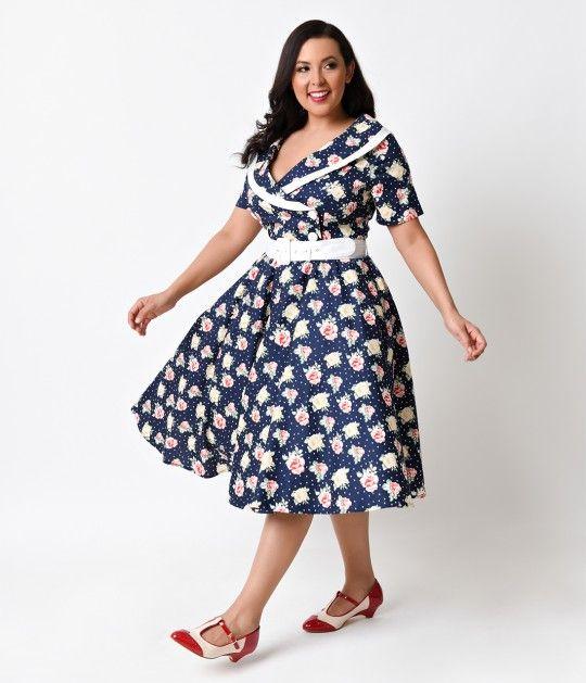Plus Size 1950s Dresses Keninamas