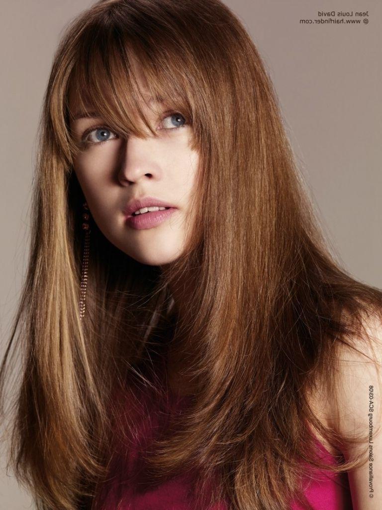 Angled Haircut For Long Hair Long Angled And Fluffy Haircut With