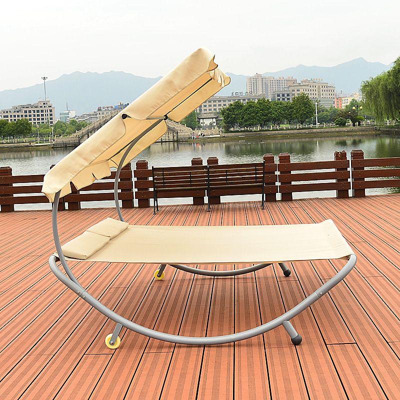 Tumbonas modernas Muebles de Patio Al Aire Libre Hamaca Doble Sofá ...