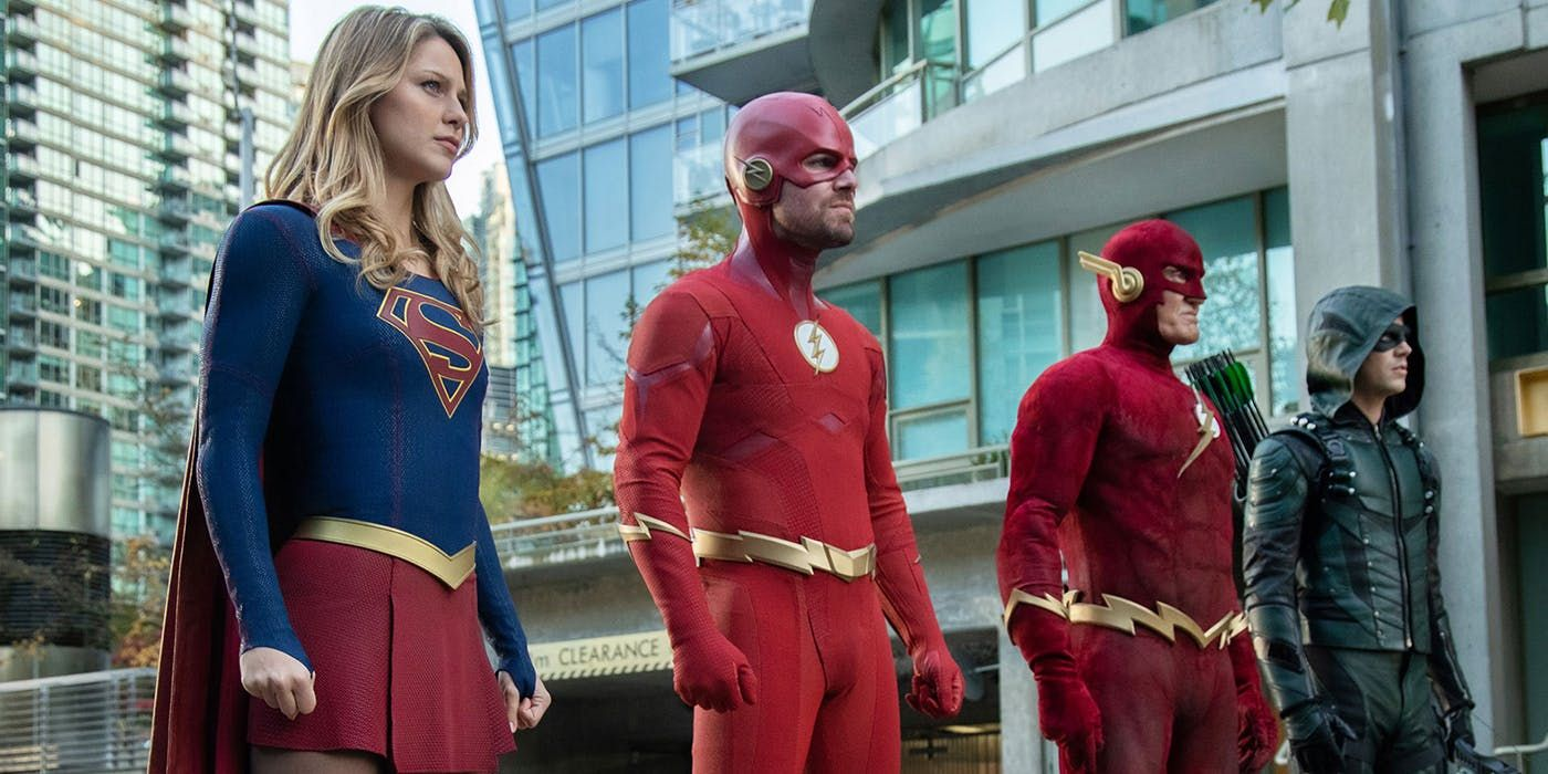 Supergirl S Elseworlds Stinger Reveals What Happened To 90s