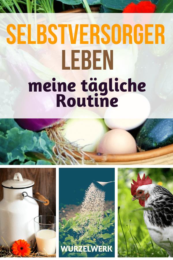 Selbstversorger-Leben: Meine tägliche Routine #routine