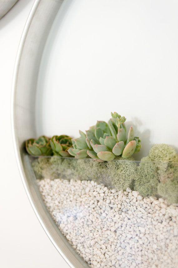 /planter jardín vertical para suculentas y por KimFisherDesigns