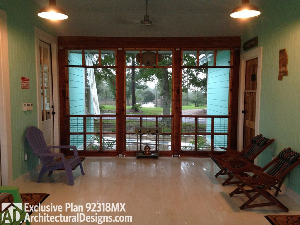 3 bed dog trot screened porch between