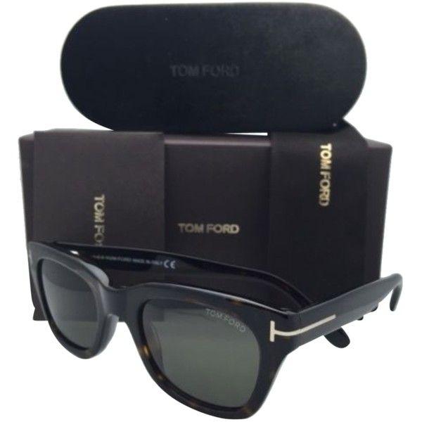 e689169bfc Pre-owned Tom Ford Sunglasses Snowdon Tf 237 52n 52-21 Havana Tortoise.