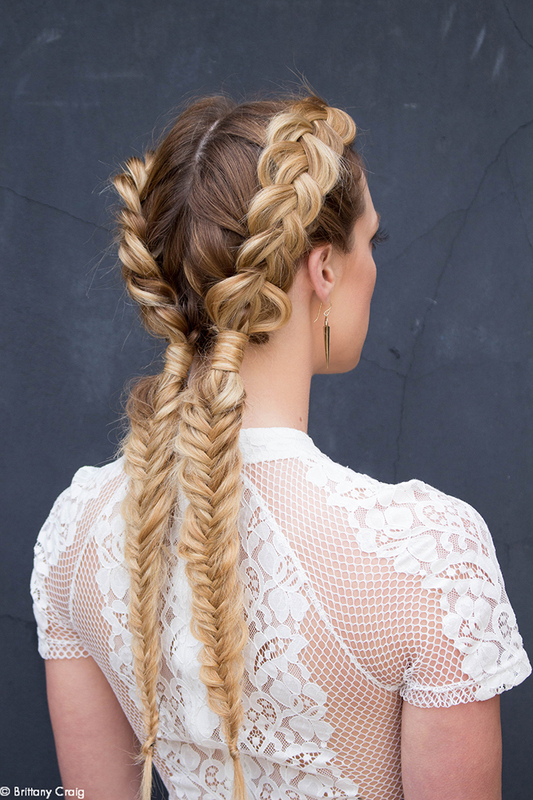 Bohemian Braid How To Bangstyle In 2020 Cowgirl Hair Styles Hair Styles Cowgirl Hair