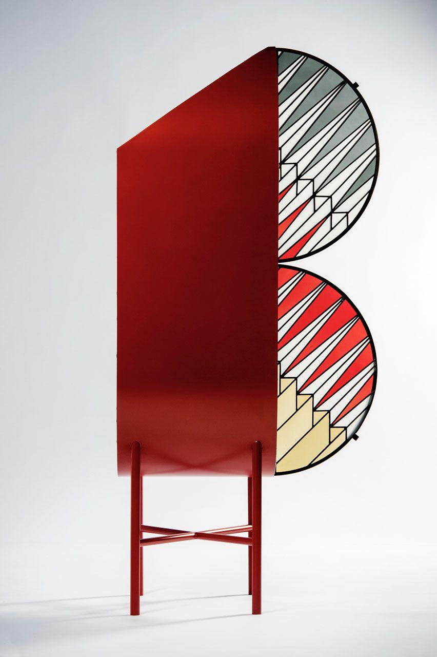 Wonderful Spazio Pontaccio Combines Patricia Urquiolau0027s Modern Design Sense With  Federico Pepeu0027s Graphic Skills By Utilizing Stained