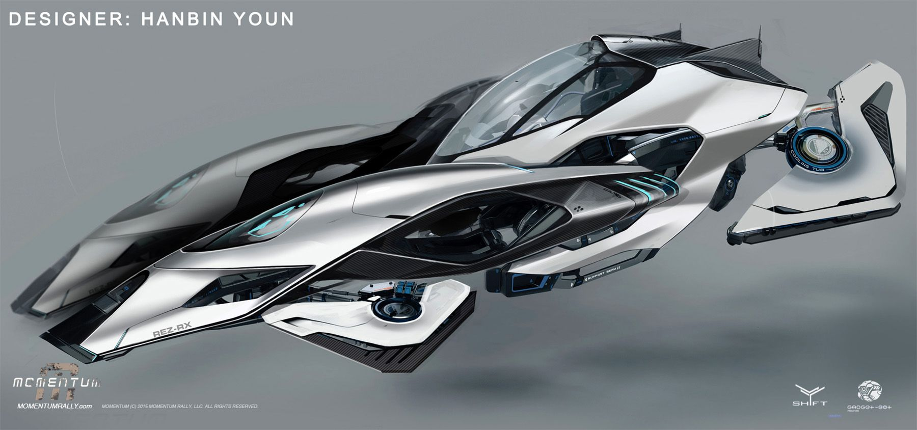 Concept ships vehicle designs from momentum concept art for Space concept
