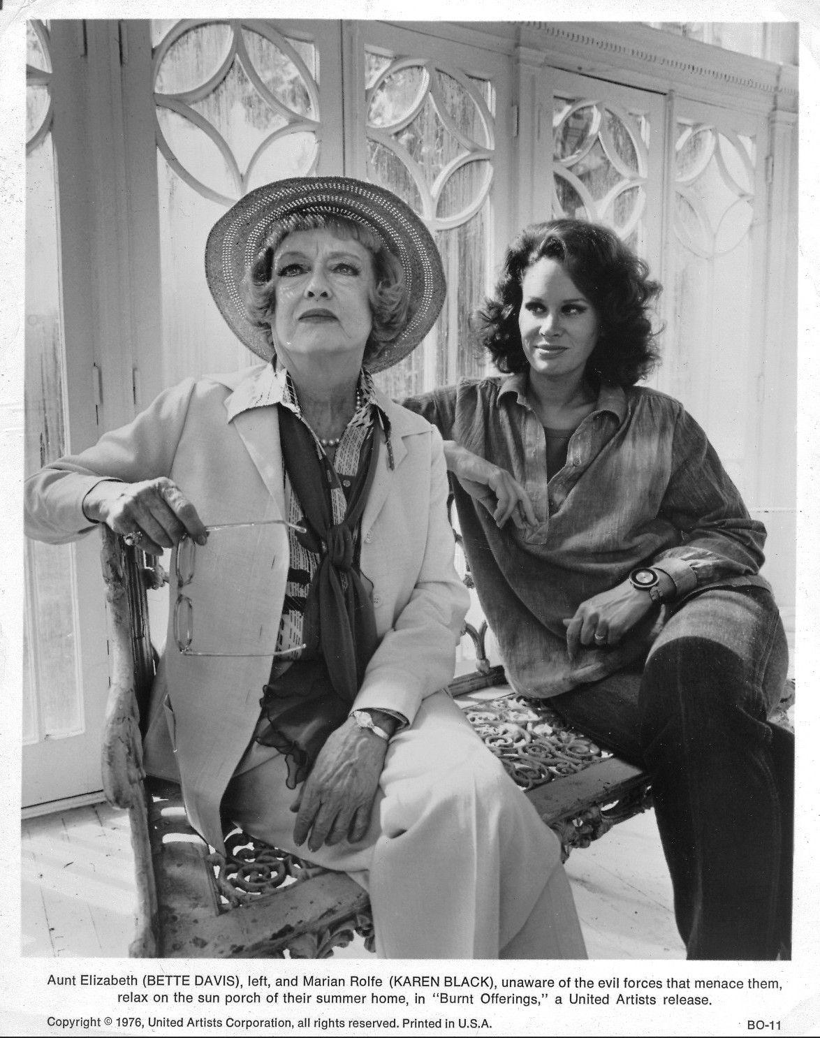 Bette Davis & Karen Black in Burnt Offerings   actresses ...