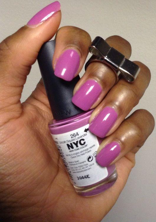 NYC Nail Polish 264 Lincoln Lavender