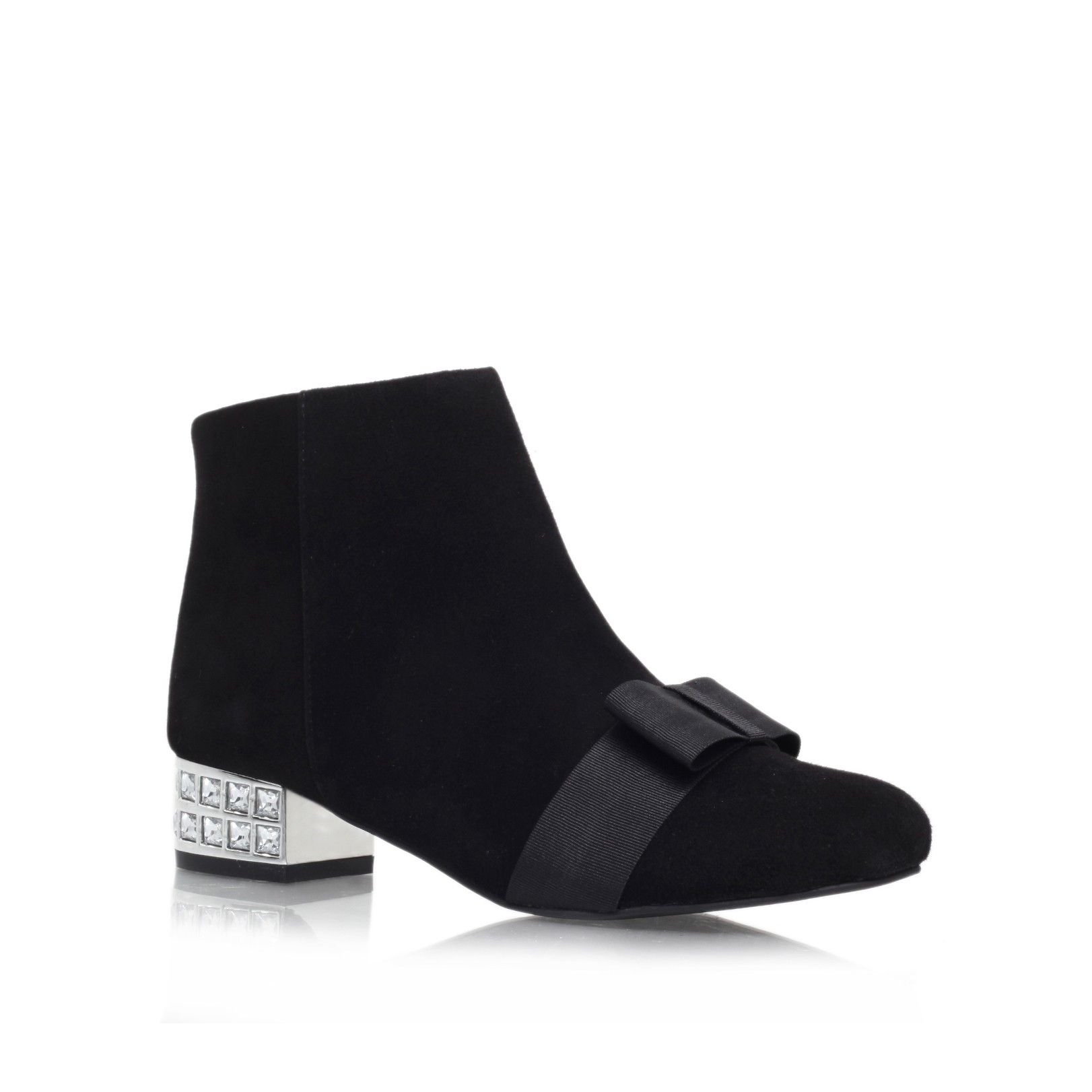 solo black low heel ankle boots from KG Kurt Geiger   Fashion ...