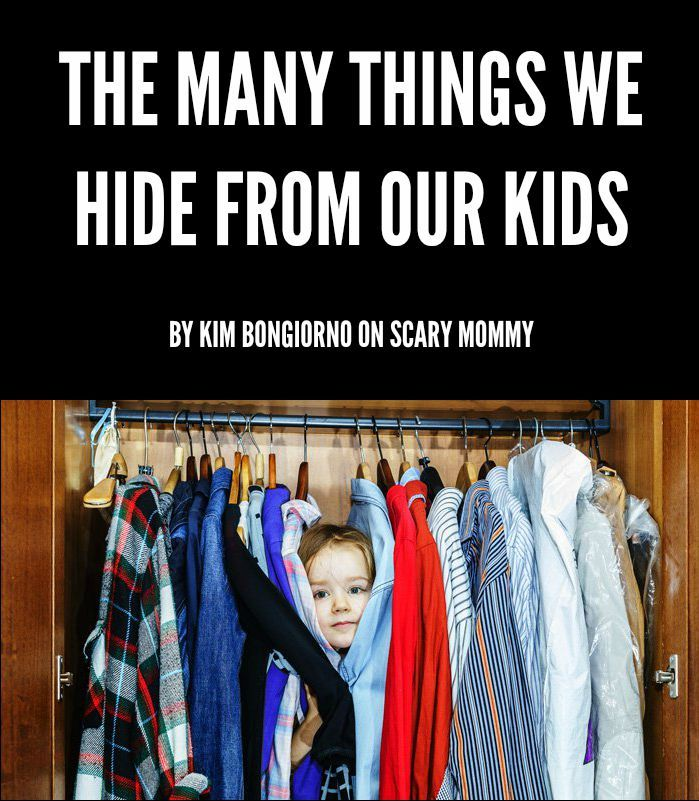 Posters The things we hide