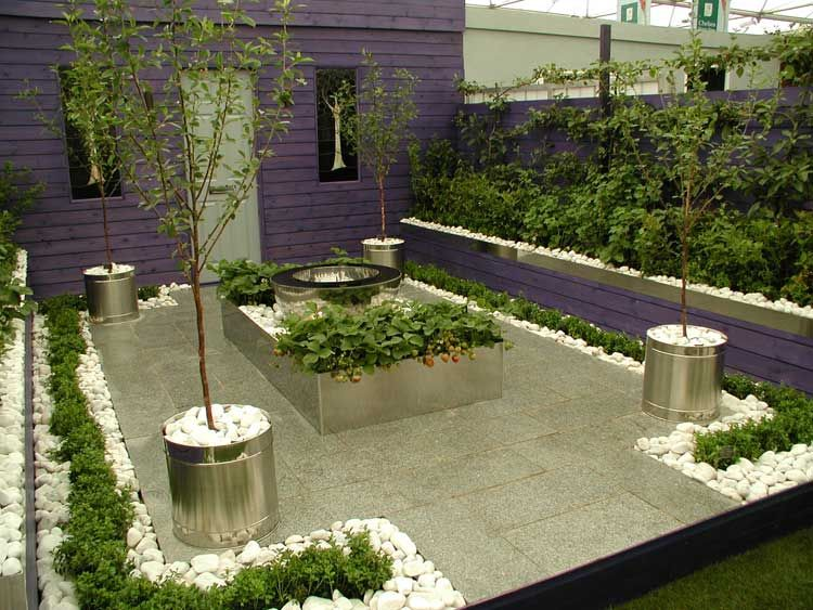 6c5acf920523fa0cf4bcfb0a75c225b8 - 37+ Small Modern Front Garden Designs Pictures