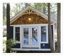Best Yes Just Like This Navy With White Trim And Cedar 400 x 300