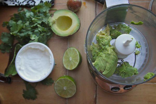 Tiny Taquitos w/ Avocado Cilantro Sauce #cilantrosauce