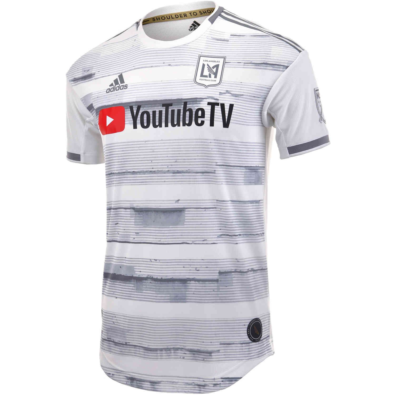 2019 Adidas Lafc Away Authentic Jersey Soccerpro Soccer Jersey Soccer Soccer Shirts