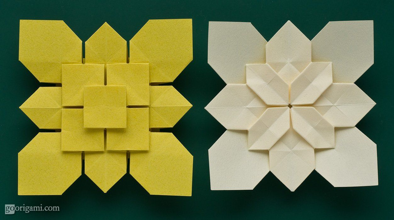Mike39s Origami Origami Diagram Links Boxes And Containers