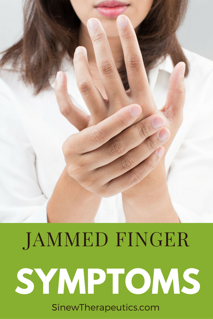 If the side ligament is torn, the joint will hurt on either side and ...