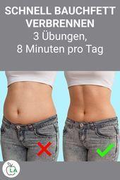 Wie Sie Ihren Bauch abnehmen