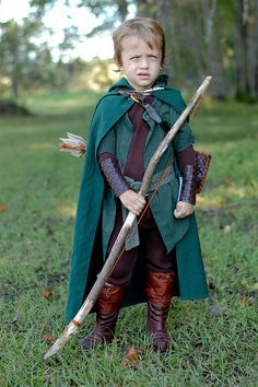 Seigneur des Anneaux Legolas Enfants Costume Carnaval