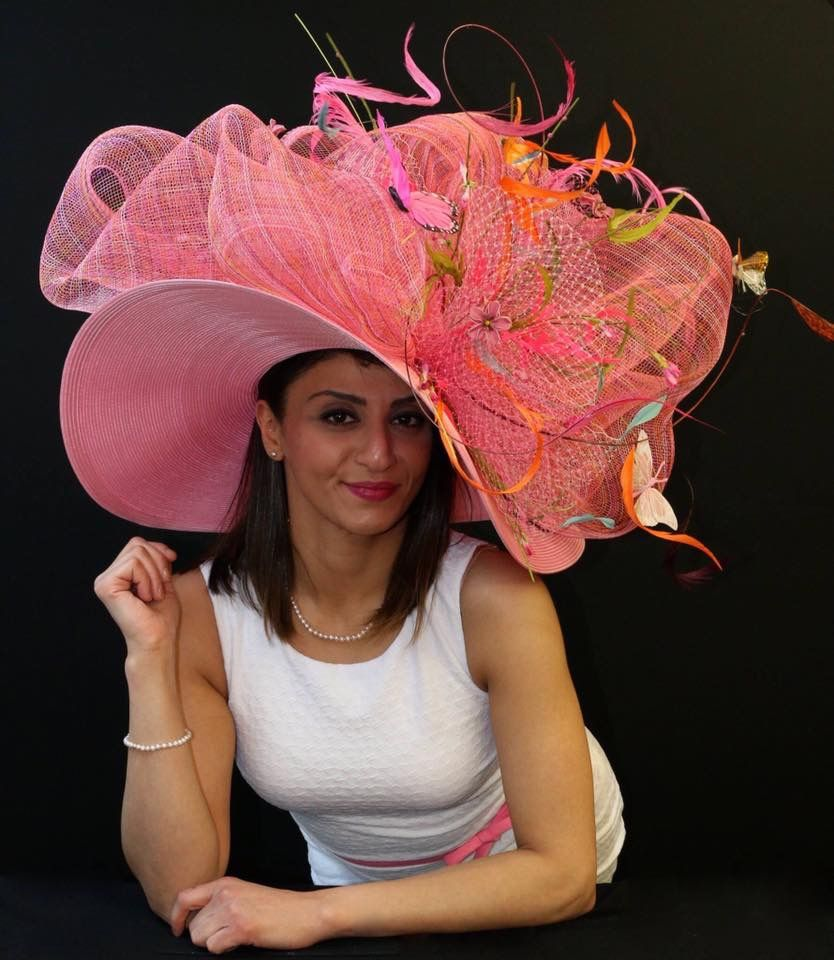Crazy Derby Hats: Pin On Hats
