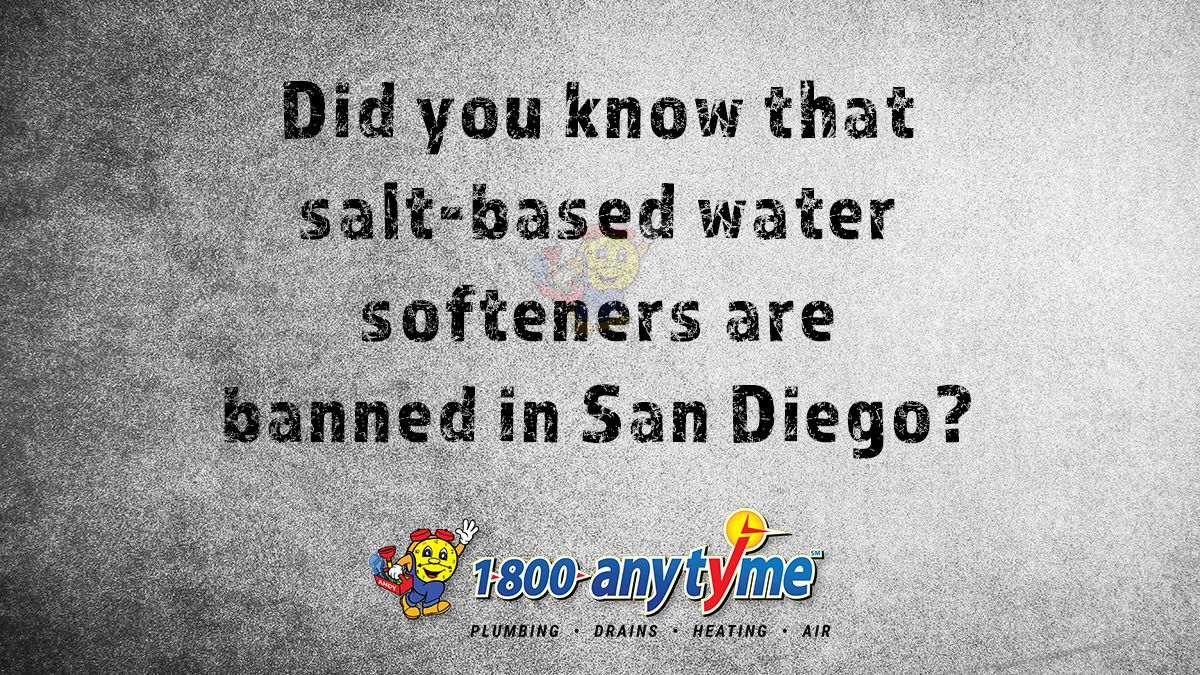 Did you know a well maintained water softener can help