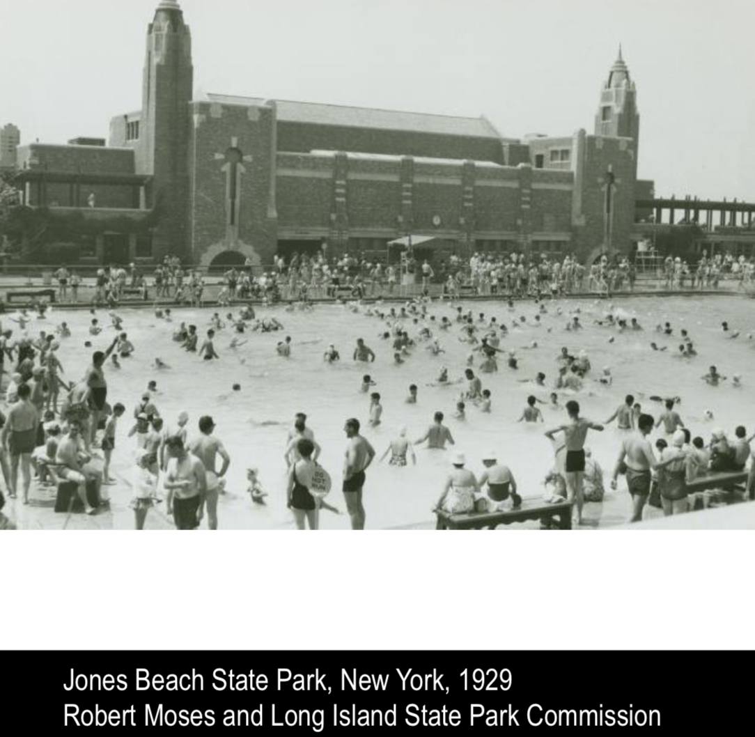 Jones Beach State Park NY Robert Moses And Long Island Commission
