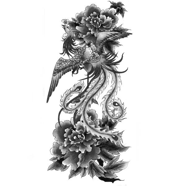 Wzór Tatuażu Feniks Tatoo Tatuaż Tatuaże I Wzory Tatuaży