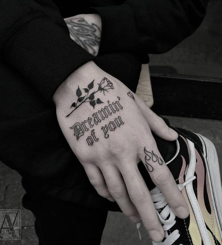 Body Tattoo Hand Tattoos And Body Art Tattoo Hand Tattoosandbodyart Hand And Finger Tattoos Small Tattoos Little Tattoos