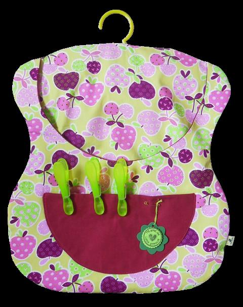 Wäscheklammersäckchen *Apfelernte*