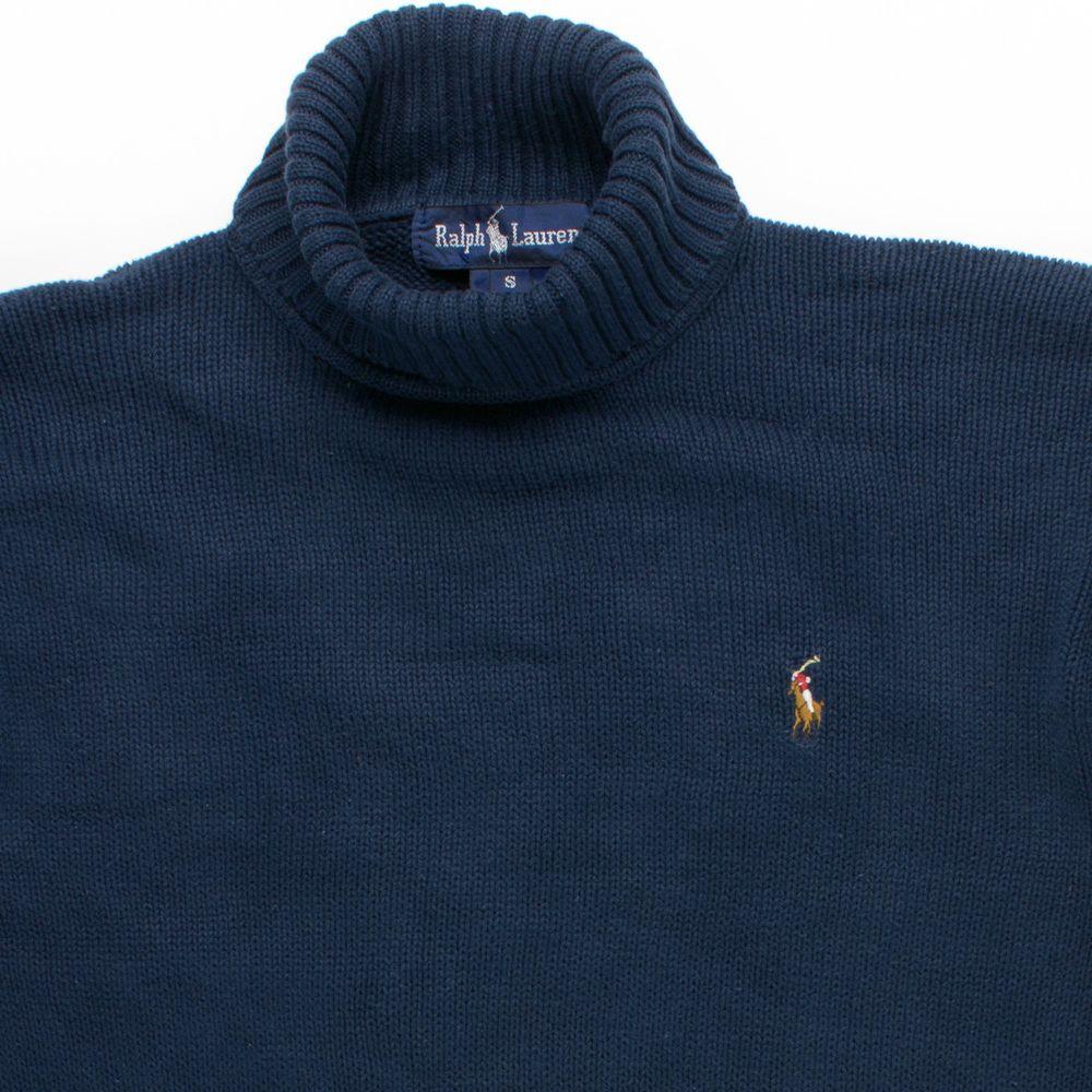 5d7a9ade6 Vintage 80 s 90 s Polo Ralph Lauren Turtleneck Pullover Knit Pony Logo  Sweater S  PoloRalphLauren  Turtleneck
