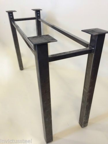 Metal-Table-Legs-Made-To-Order-Bolt-Together-Table-Kit-Steel