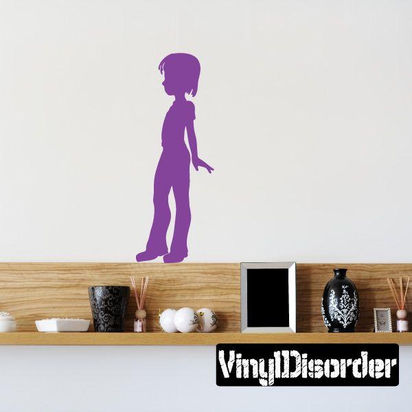 Girl Wall Decal - Vinyl Decal - Car Decal - 145