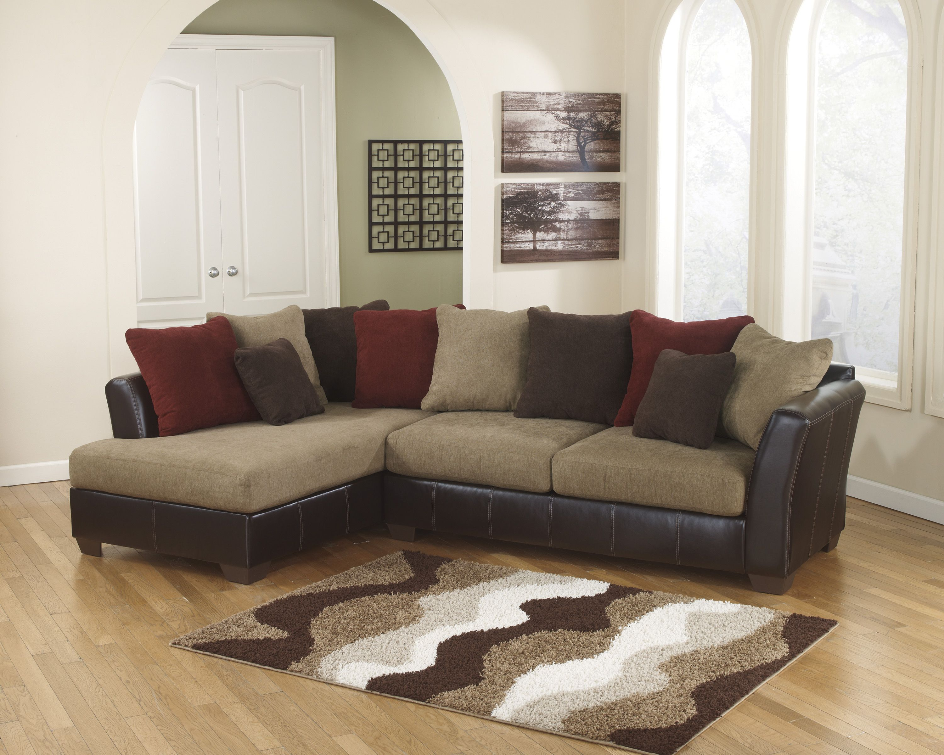 The Chaise Lounge On The Sanya Sectional Can Be Ordered On Either Side Of The Set With Images Ashley Furniture Sectional Ashley Furniture
