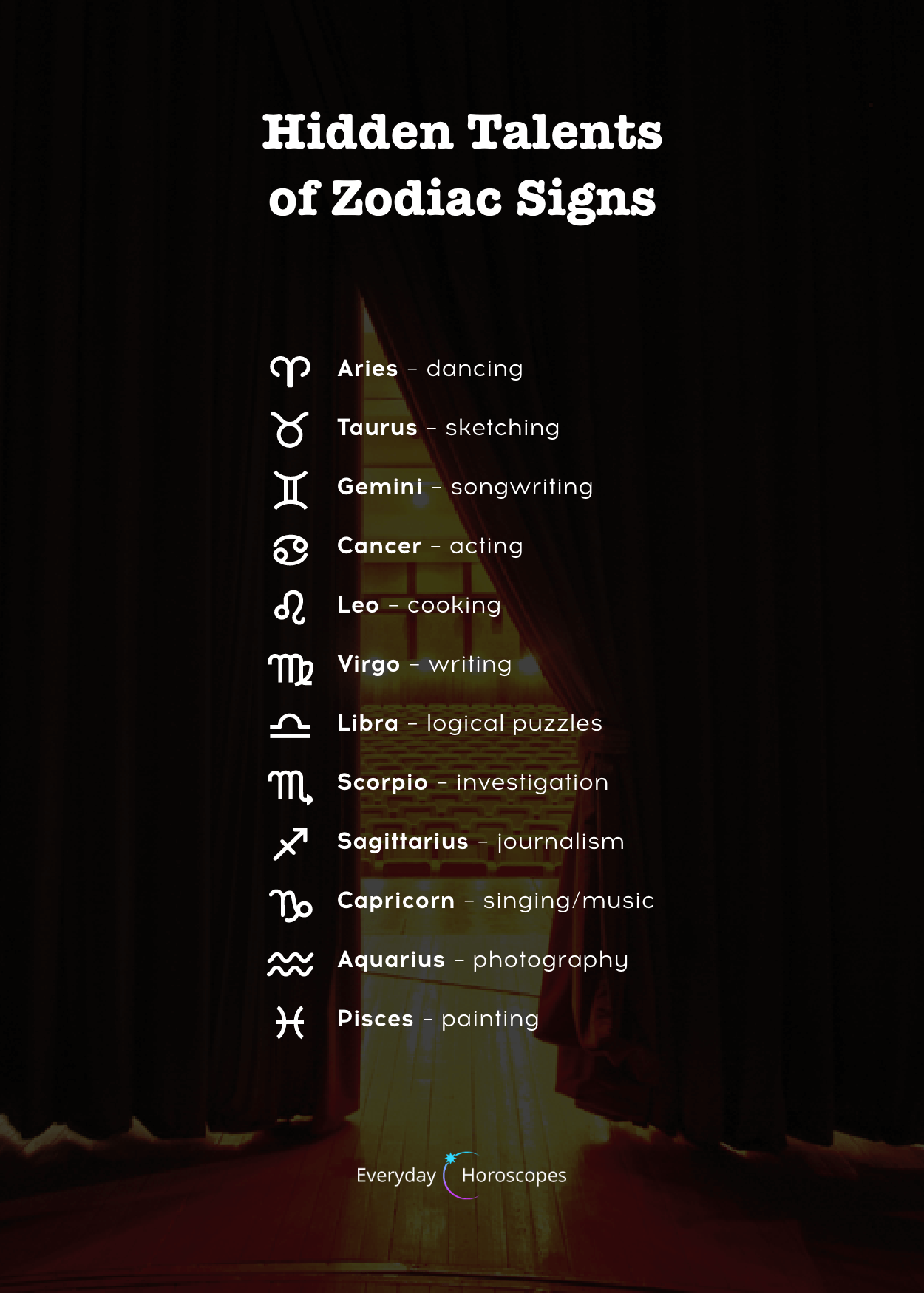 Your Psychic Talents #zodiacsigns