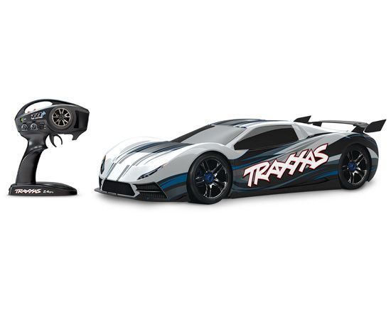 Traxxas Xo 1 Tqi 2 4ghz 1 7 4wd Brushless Rtr Electric Rc Super Car Traxxas Super Cars Little People