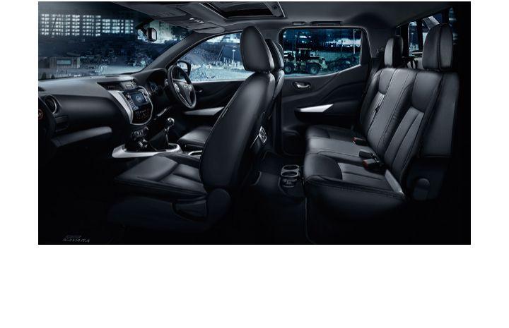 The All New Nissan Np300 Navara Interior Nissan New Nissan Cab
