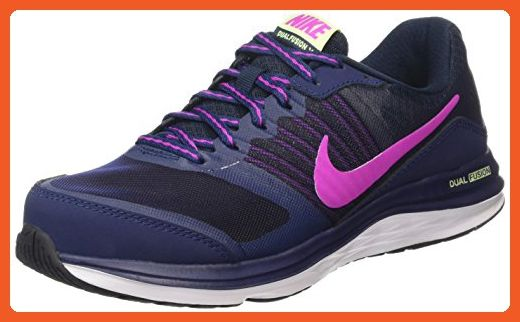 3caa6b19dba Nike Women s Dual Fusion X Midnight Navy   Fuchsia Flash-Dark Obsidian  Ankle-High Running Shoe - 8M - Athletic shoes for women ( Amazon  Partner-Link)