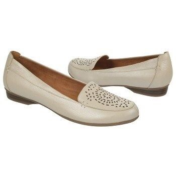 Womens Shoes Naturalizer Sincere Ivory Metallic Leather