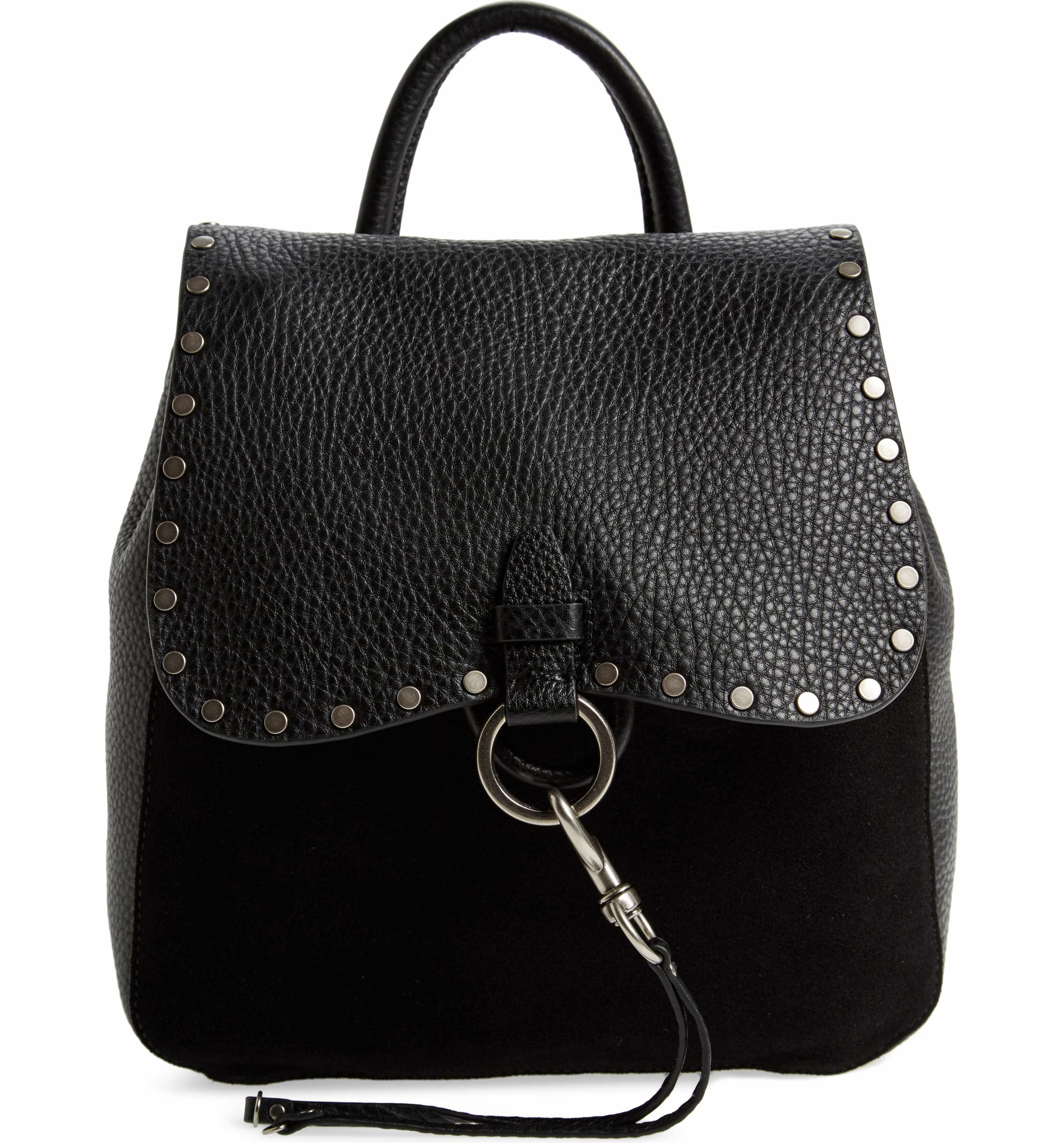 amp; Main Minkoff Rebecca Image Suede Keith Backpack Small Leather wYrY6qE4
