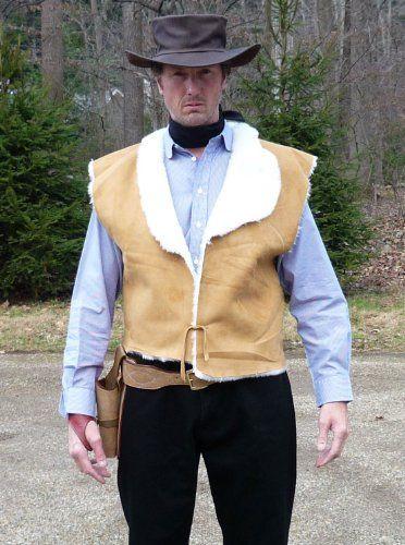 c6a4c033f Clint Eastwood Spaghetti Western Cowboy Vest - Fistful of dollars ...