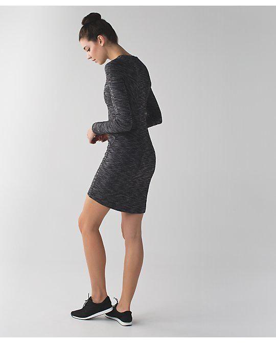 5c972954cb13c  go Everywhere Dress - Heathered Black