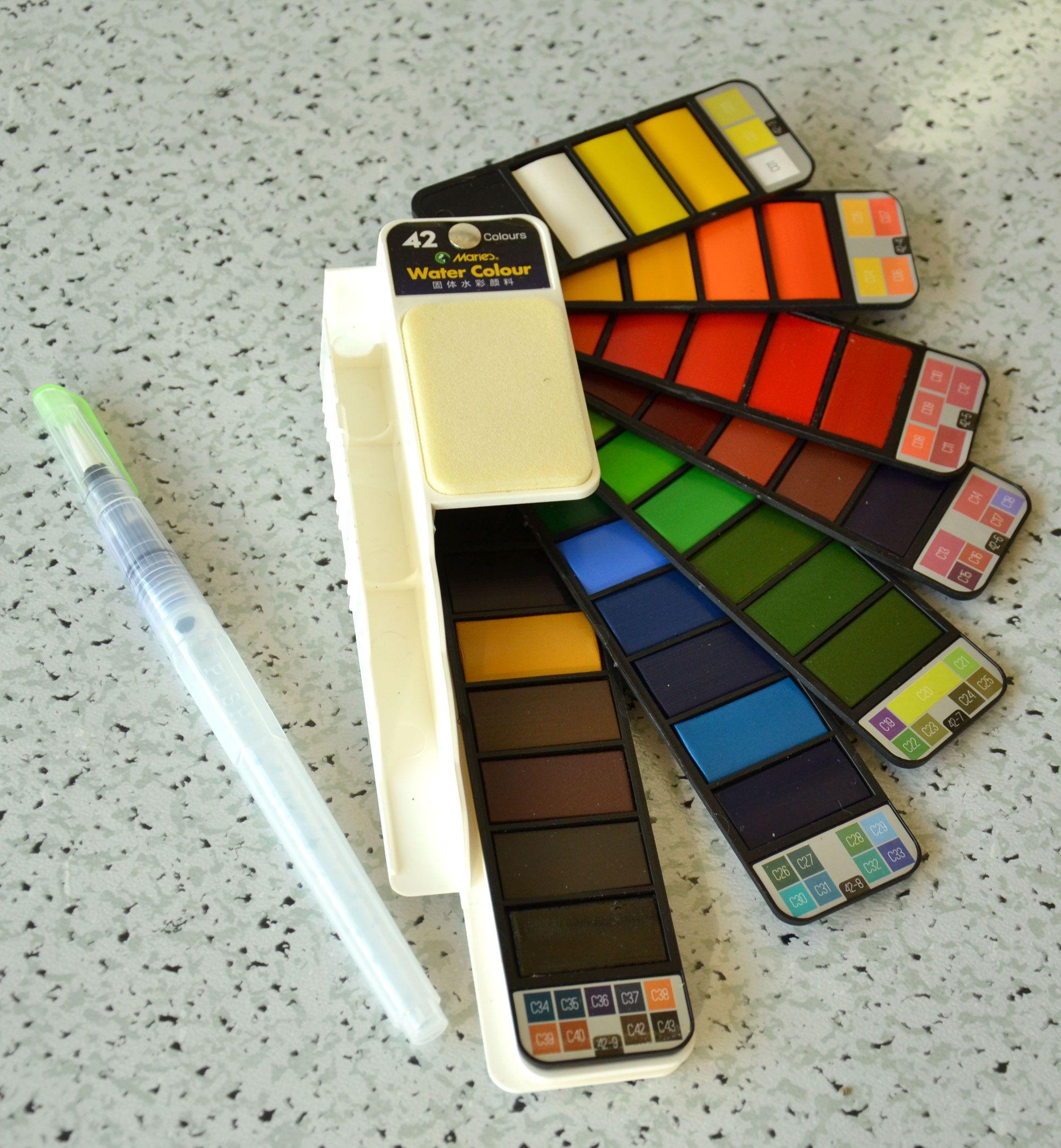 Ausprobiert Welche Aquarellfarben Sind Die Besten Welche