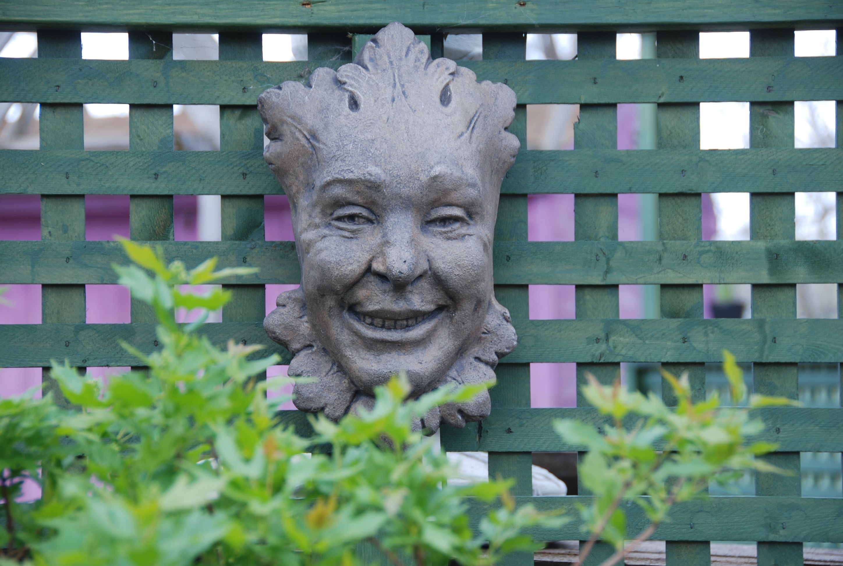 Laughing Face Plaque
