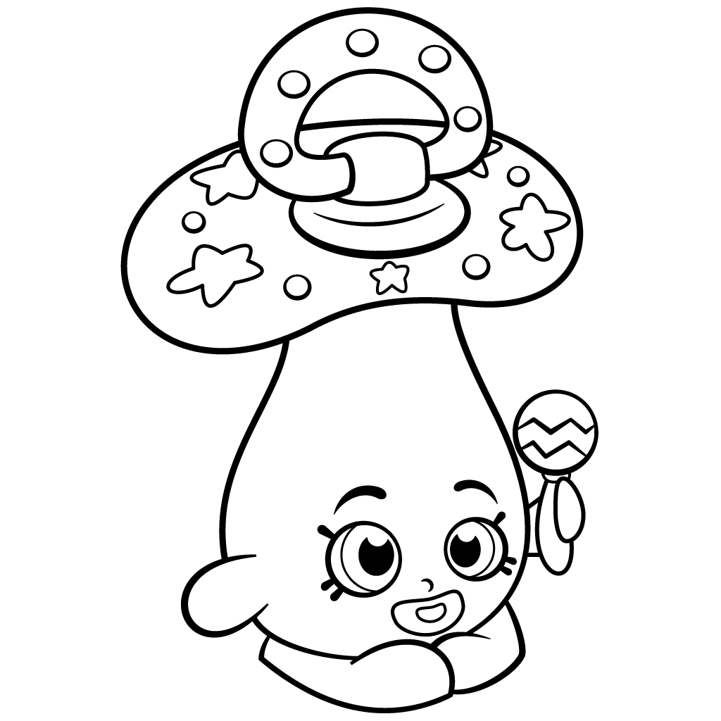 Chrissy Cream Shopkins colouring pages Baby coloring pages Free coloring pages